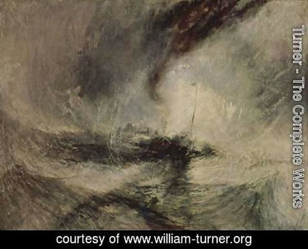 Turner - Snow storm off the harbor entrance