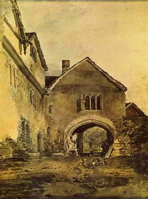 Turner - Doorway of a mansion