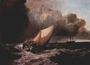 Turner - Dutch boats in a storm