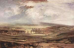 Turner - Raby Castle, Residence of the Earl of Darlington