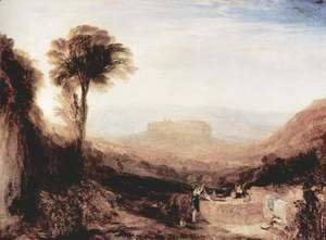 Turner - View of Orvieto