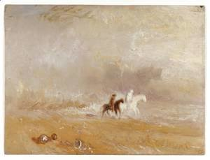 Turner - Riders on a Beach