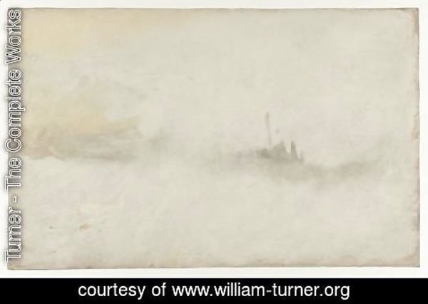 Turner - Ship in a Storm