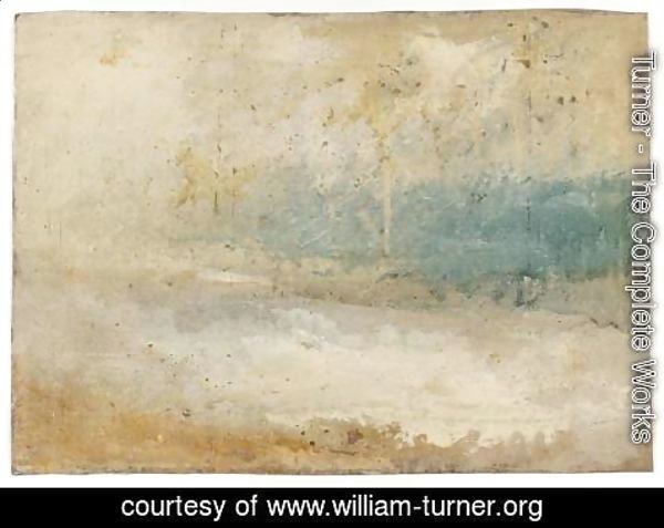 Turner - Waves Breaking on a Beach
