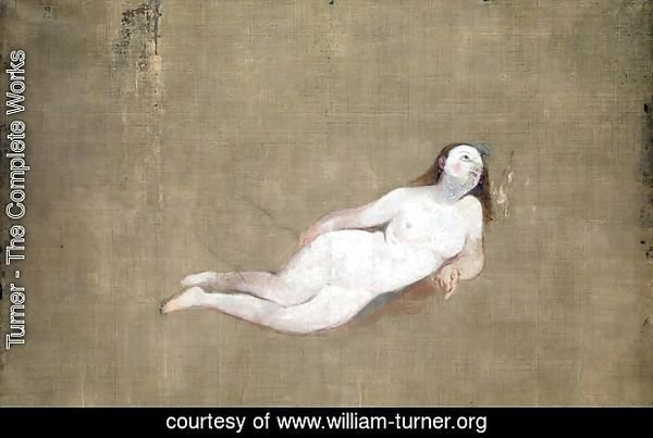 Two Recumbent Nude