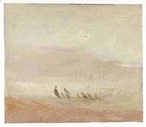 Turner - Figures on a Beach