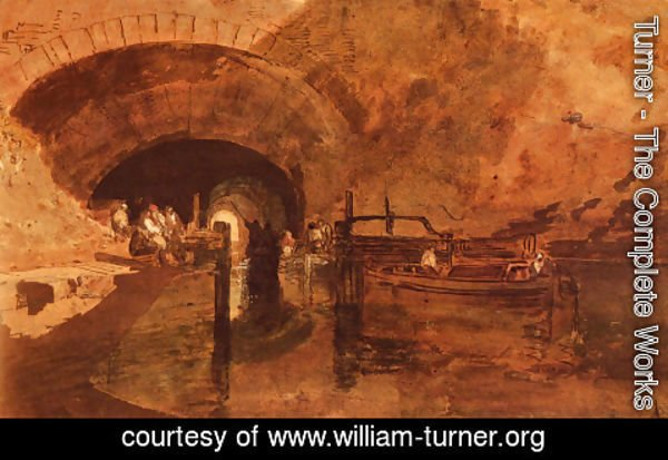 Turner - A Canal Tunnel Near Leeds