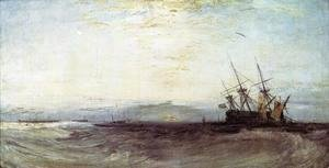 Turner - A Ship Aground