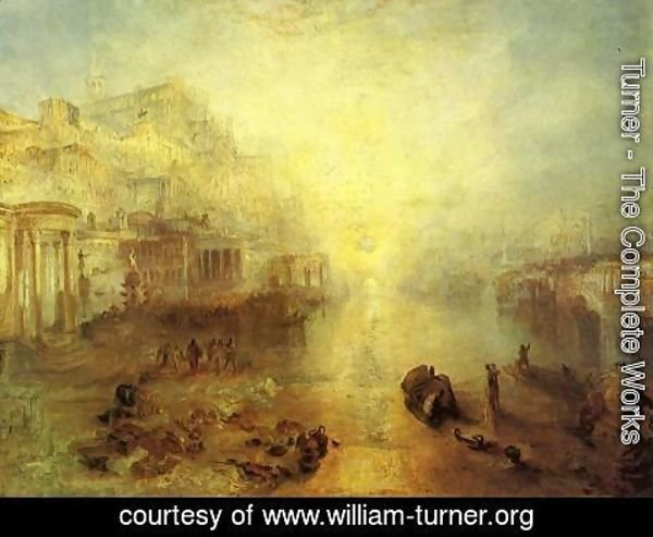 Turner - Ancient Italy   Ovid Banished From Rome