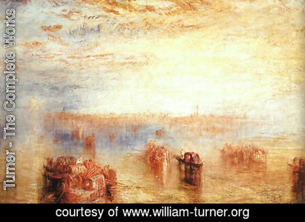 Turner - Approach to Venice 1843