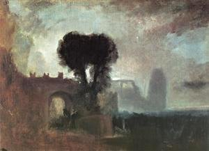 Turner - Archway With Trees By The Sea