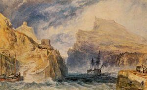 Turner - Boscastle  Cornwall