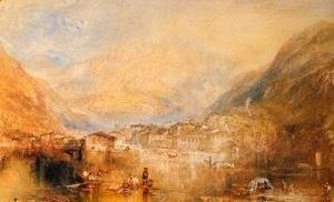 Turner - Brunnen  From The Lake Of Lucerne