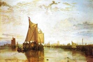 Turner - Dort  The Dort Packet Boat From Rotterdam Bacalmed