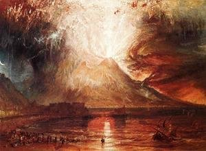 Turner - Eruption Of Vesuvius