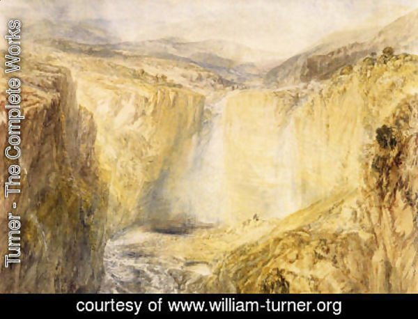 Turner - Fall Of The Trees  Yorkshire