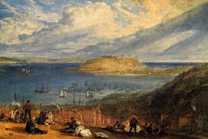 Turner - Falmouth Harbour  Cornwall