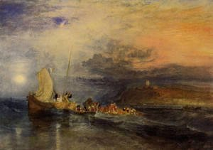 Turner - Folkestone From The Sea