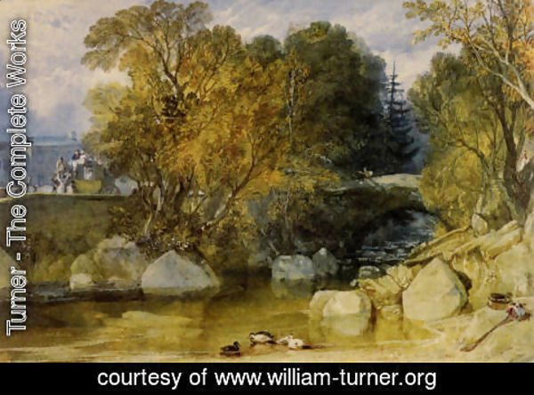 Turner - Ivy Bridge  Devonshire