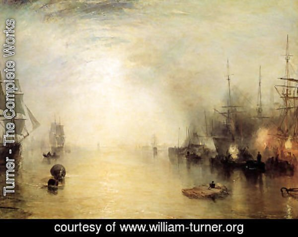 Turner - Keelman Heaving In Coals By Night