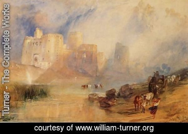 Turner - Kidwelly Castle