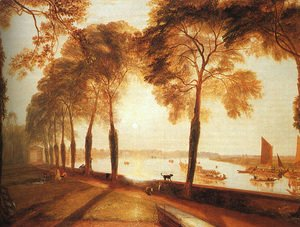 Turner - Mortlake Terrace 1826