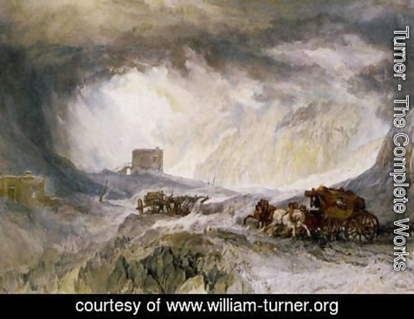 Turner - Passage Of Mount Cenis