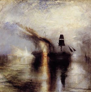Turner - Peace - Burial at Sea 1842