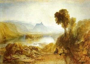 Turner - Prudhoe Castle  Northumberland