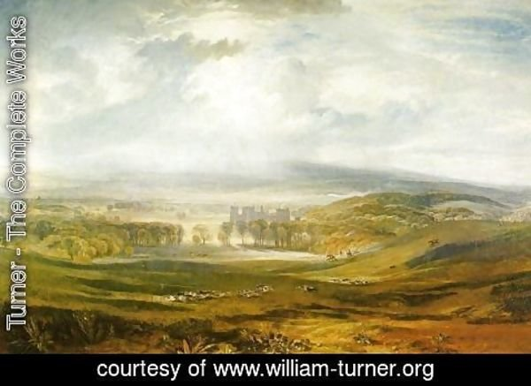 Turner - Raby Castle  The Seat Of The Earl Of Darlington