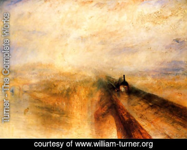 Turner - Rain, Steam and Speed The Great Western Railway  1844