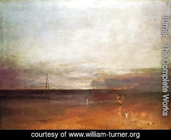 Turner - Rocky Bay With Figures