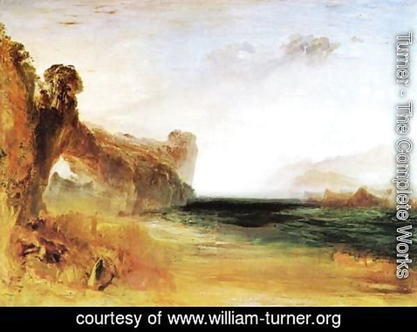 Turner - Rocky Bay With Figures2
