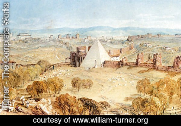Turner - Rome From Monte Testaccio