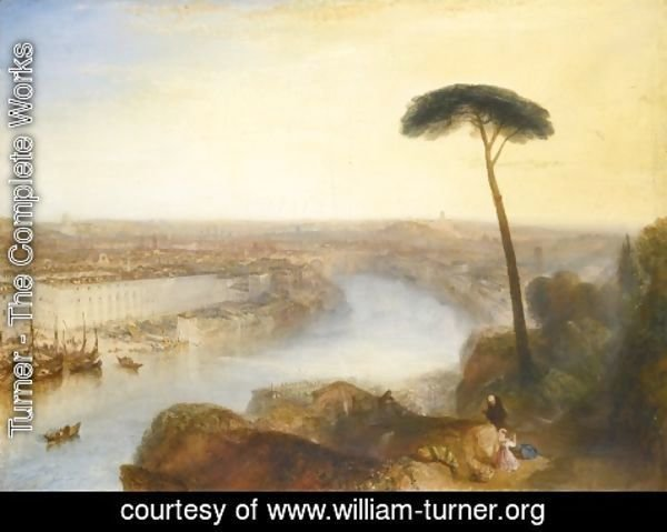 Turner - Rome From Mount Aventine