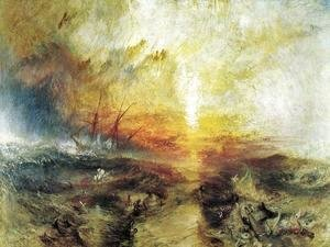 Turner - Slavers Throwing Overboard The Dead And Dying   Typhoon Coming On