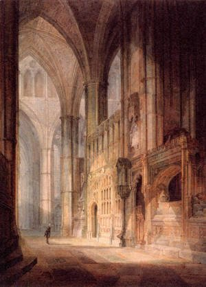 Turner - St  Erasmus In Bishop Islips Chapel  Westminster Abbey