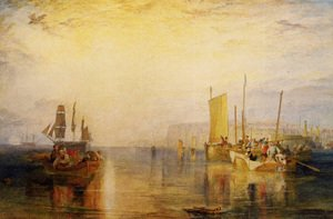 Turner - Sunrise  Whiting Fishing At Margate