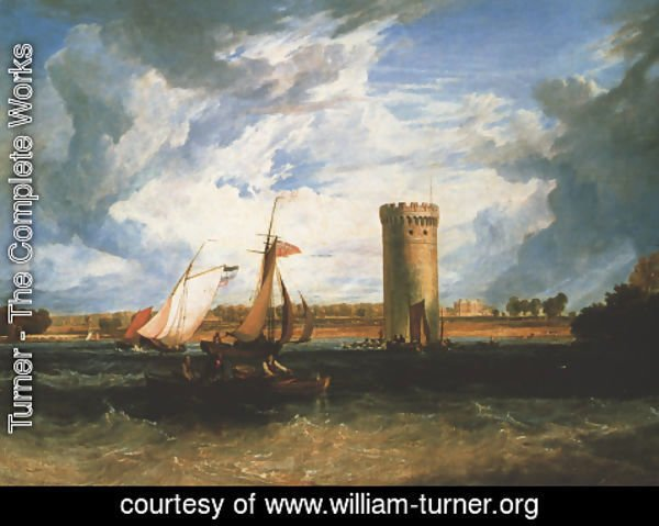 Turner - Tabley  The Seat Of Sir J F  Leicester