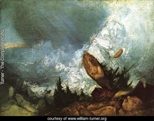 The Fall of an Avalanche in the Grisons 1810
