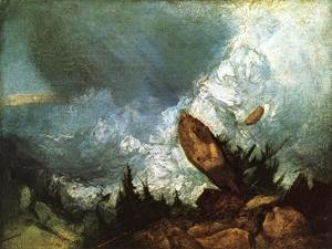 Turner - The Fall of an Avalanche in the Grisons 1810
