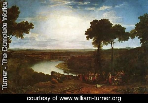 Turner - The Festival Upon The Opening Of The Vintage At Macon