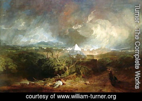 Turner - The Fifth Plague of Egypt 1800