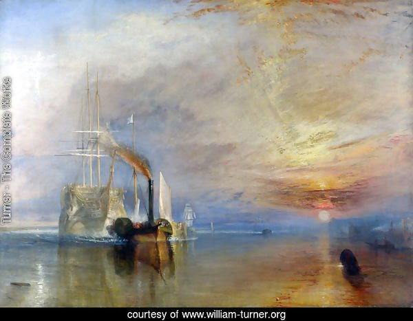The 'Fighting Temeraire' tugged to her Last Berth to be broken up 1838-39