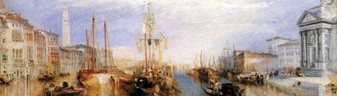 Turner - The Grand Canal, Venice 1835