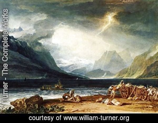 Turner - The Lake Of Thun  Switzerland