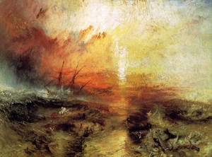 Turner - The Slave Ship 1840