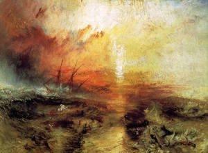 Superb Turner   The Slave Ship 1840