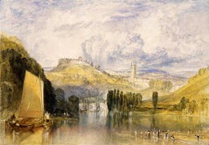 Turner - Totnes  In The River Dart