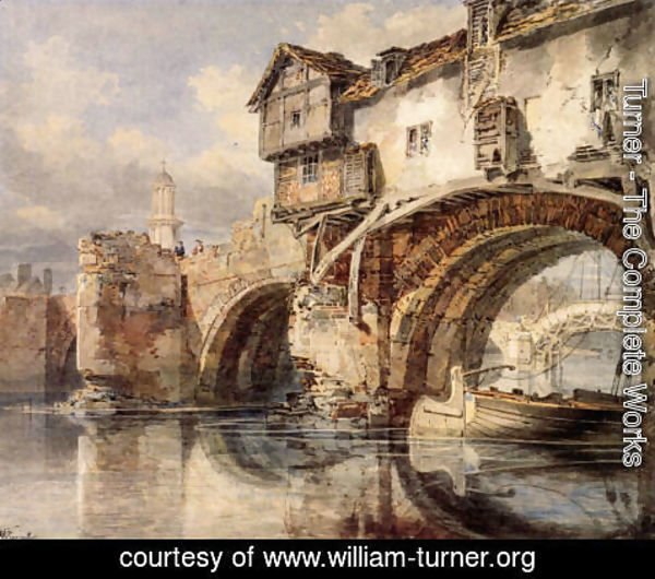 Turner - Welsh Bridge At Shrewsbury